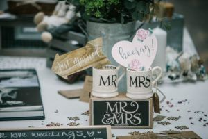 Wedding gifts at Cedar Farm