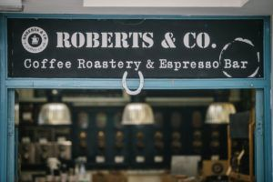 Roberts and Co Coffee Roastery at Cedar Farm