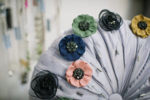 Beautiful floral pins